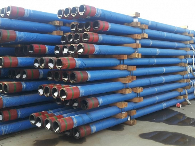 Liner pipes ready for shipment